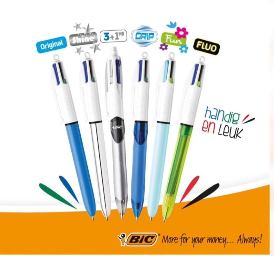 Darmowy pisak / długopis bic