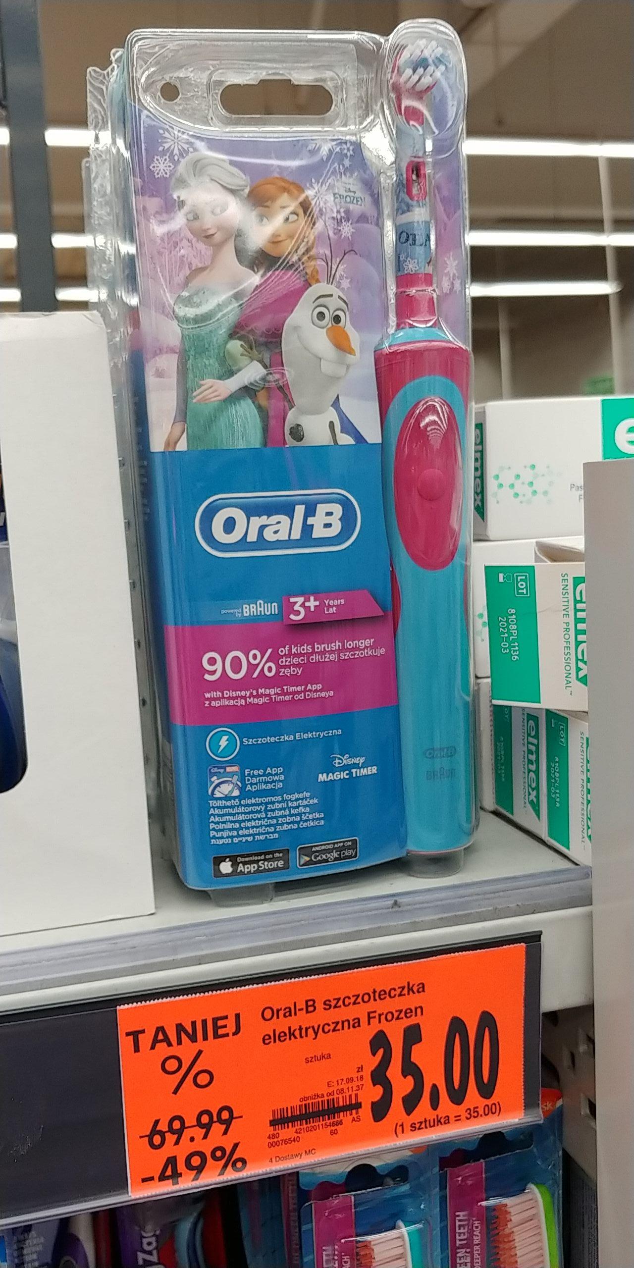 Oral B frozen kaufland