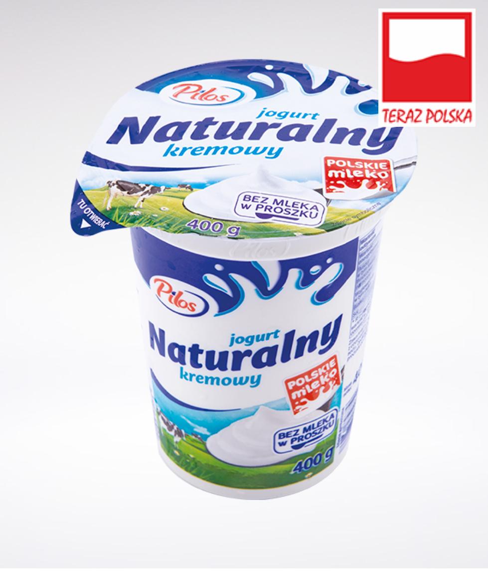 Jogurt naturalny Pilos 400g @Lidl
