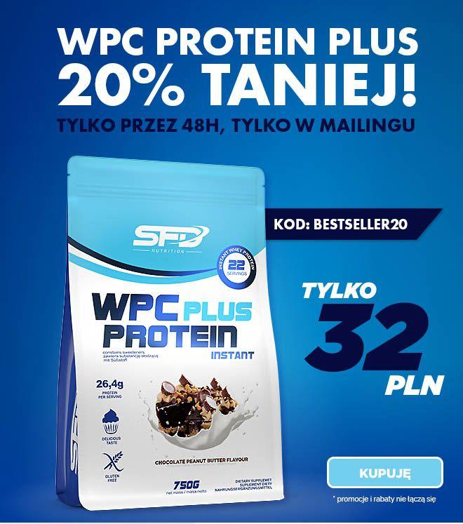 Białko SFD WPC Protein Plus 750 g, 20 % taniej