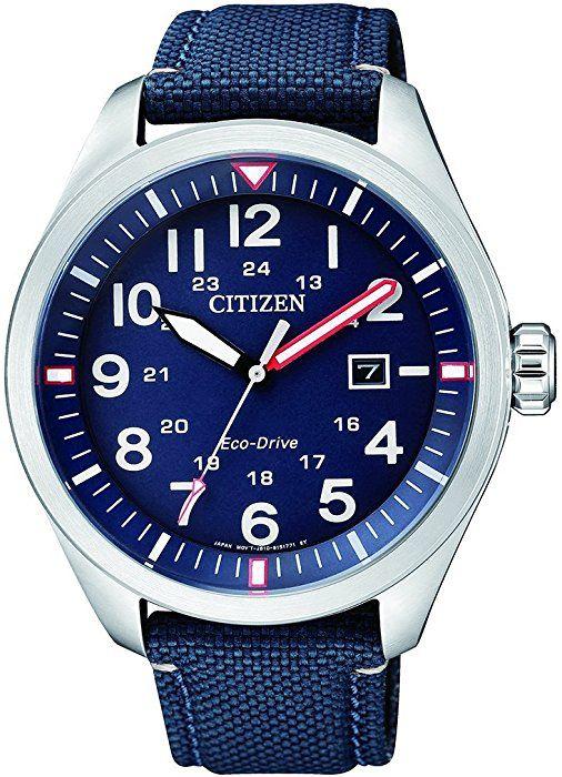 Dwie wersje zegarek Citizen Eco drive