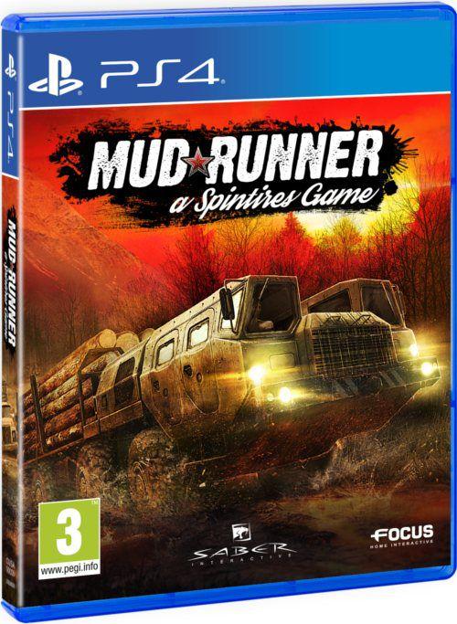 Spintires: MudRunner PS4 (PL 51zł/TR 33zł)