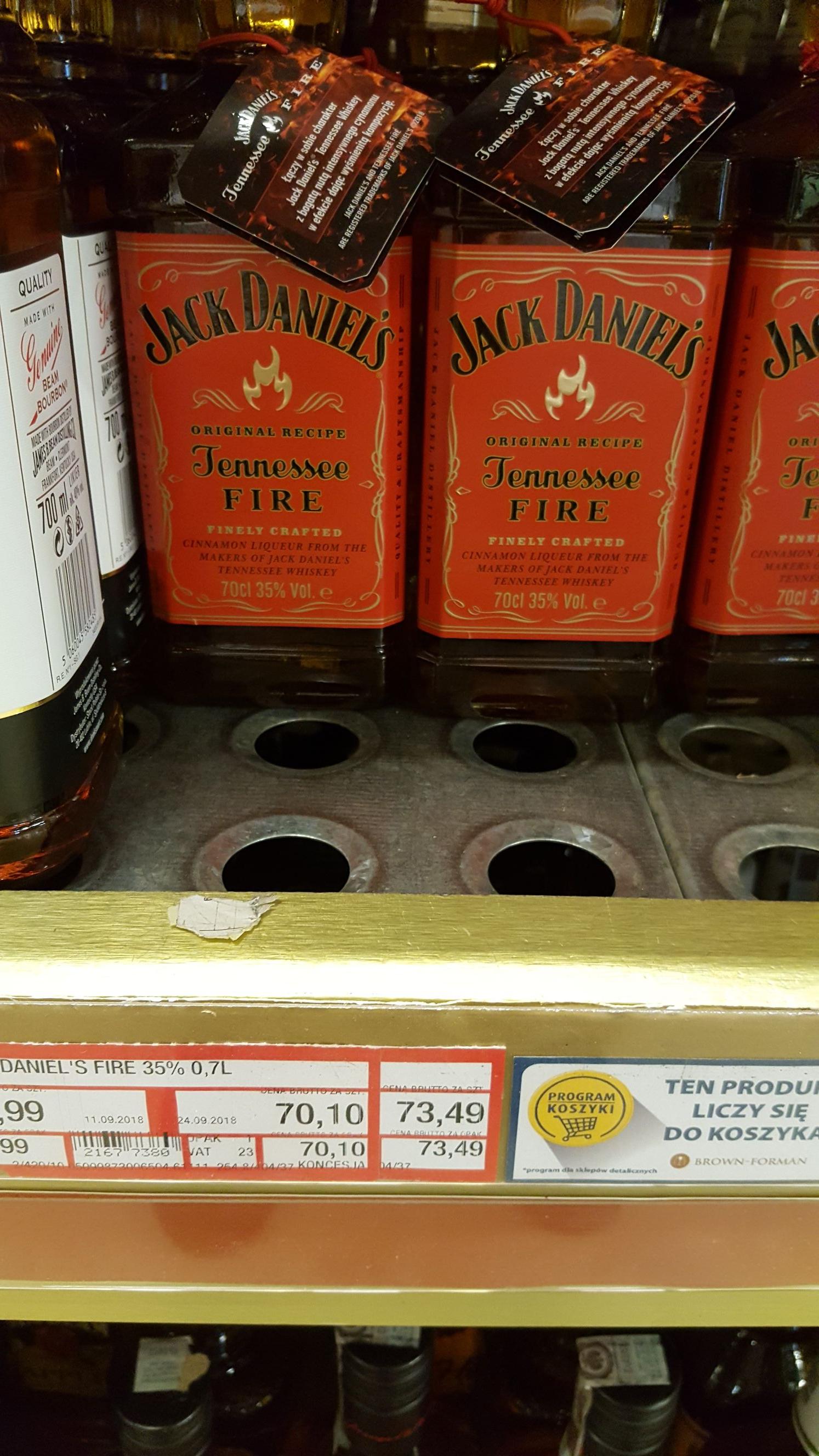 Jack Daniels Fire 0,7 Makro
