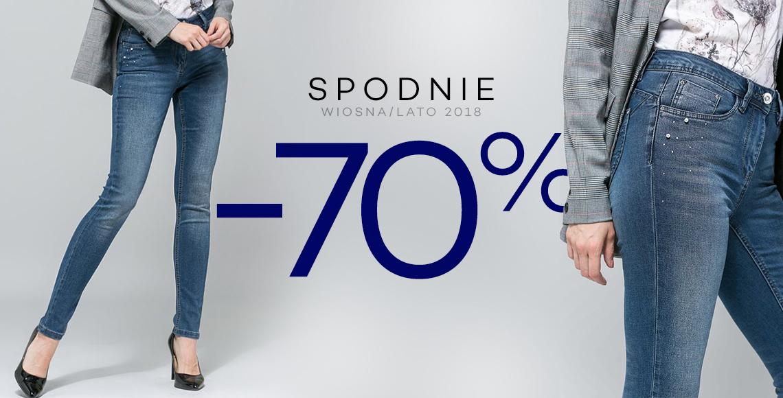 70% rabatu na spodnie @ Monnari