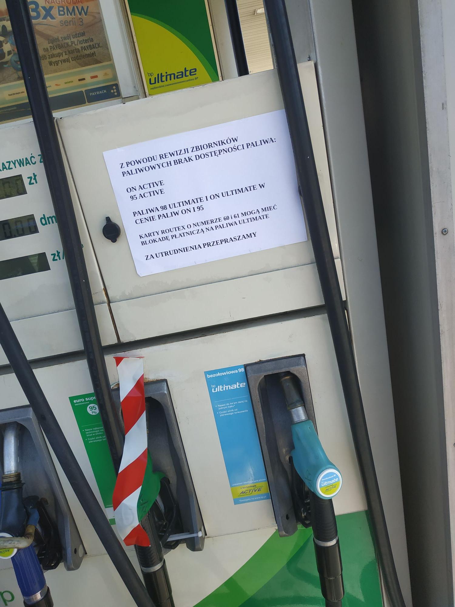 Paliwa ultimate w cenie podstawowych BP Kraków