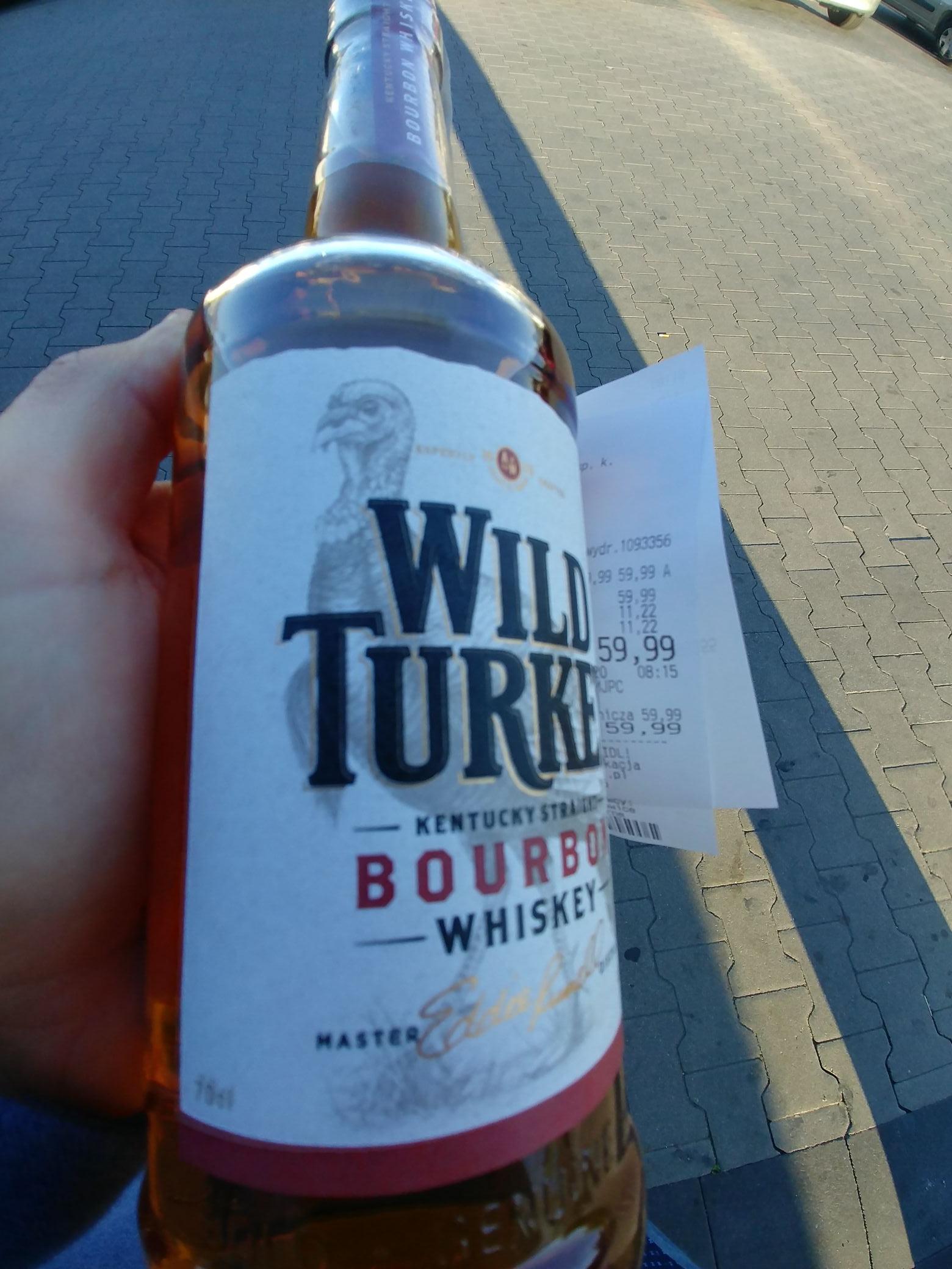 BYŁO!!! Wild Turkey Bourbon Whiskey 0,7 Lidl