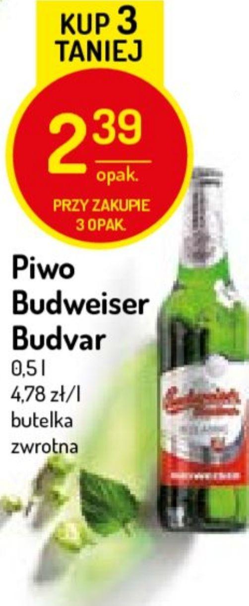 3x piwo Budweiser (2,39zł za 1) @ Delikatesy Centrum