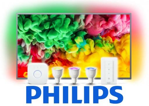 Telewizor 55'' Philips 55PUS6703/12 + Zestaw HUE