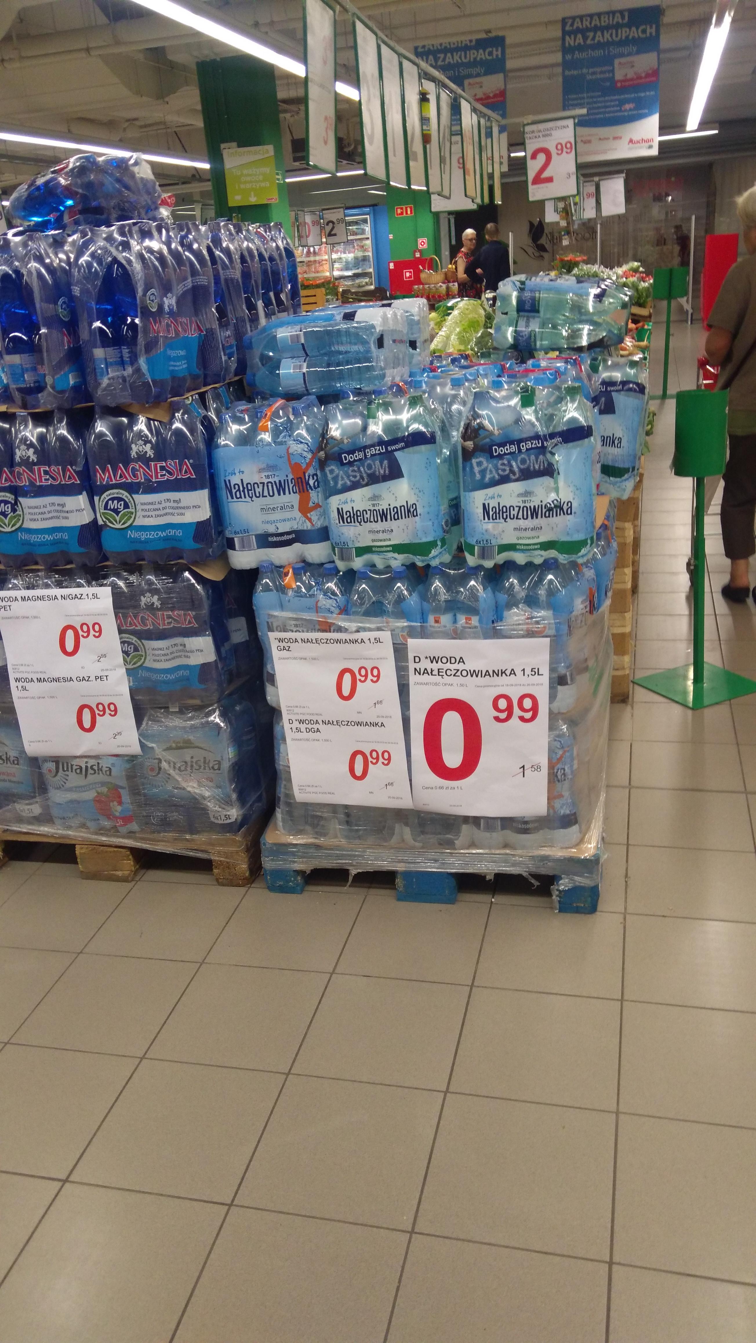 Simply Market: Nałęczowianka 1,5 l