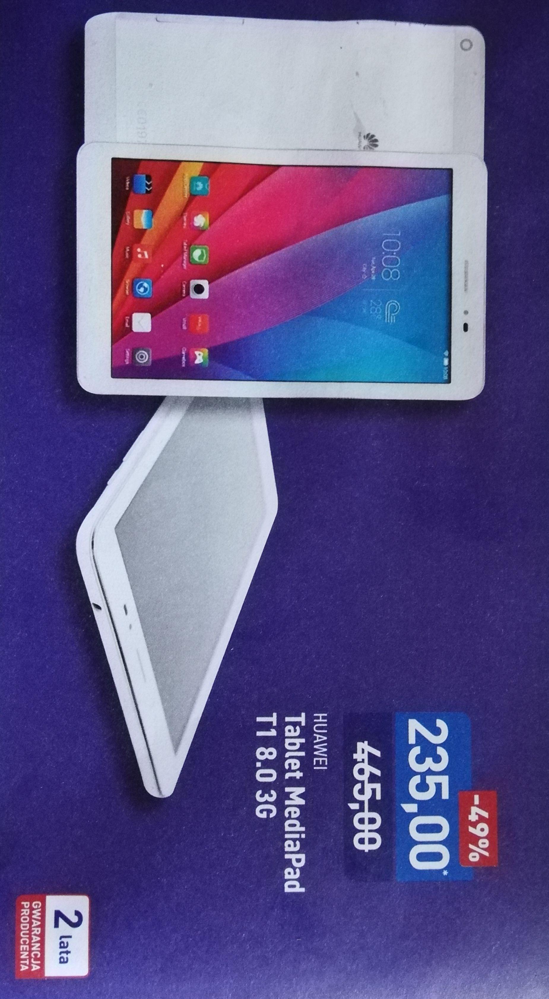 Tablet Huawei MediaPad T1 8.0 3G [ALDI]
