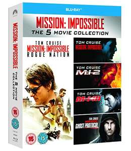 Mission Impossible 1-5 [Blu-ray] @ Amazon.uk