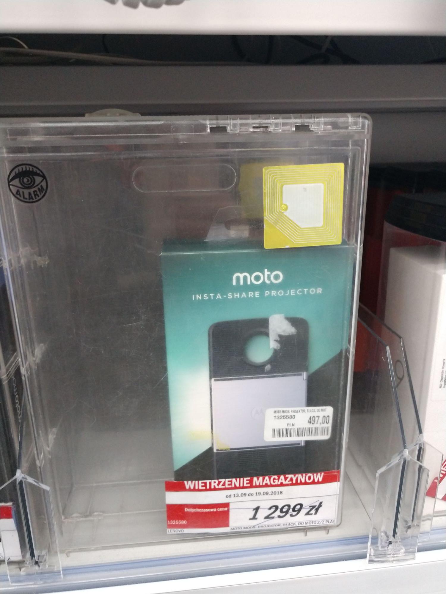 Moto Mods Projektor do Moto Z - MM M1 Kraków