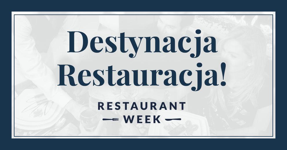 Restaurant Week - 17-31 października (10% rabatu)