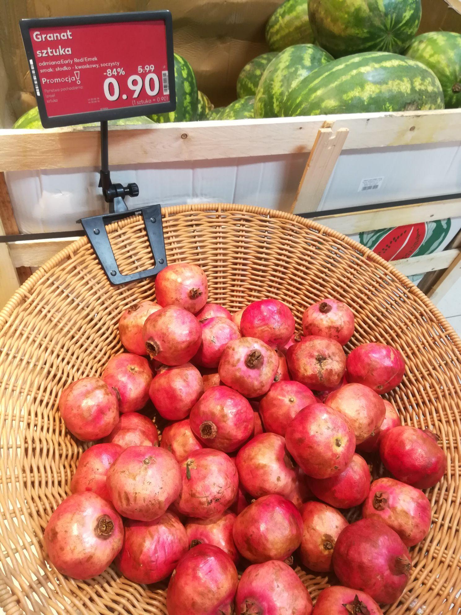 Owoc Granatu- Kaufland Jędrzejów