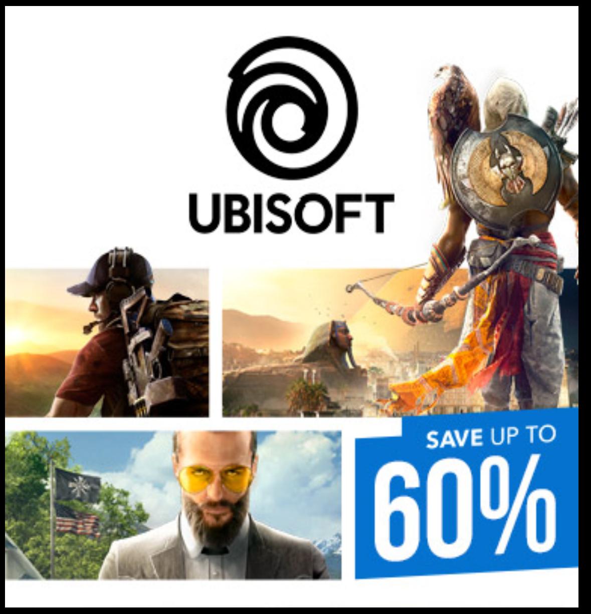 Przecena na gry od Ubisoft na psn