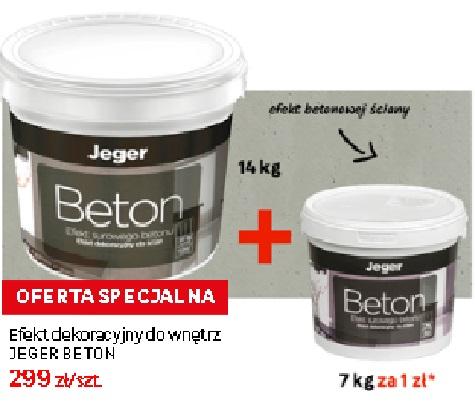 14kg Jeger Beton + 7Kg za 1zł Leroy Merlin