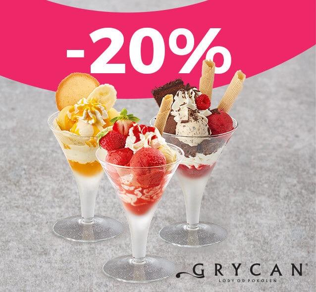 -20% na wszystkie desery lodowe @ Goodie