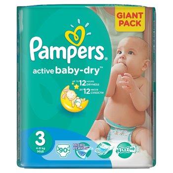 Pieluszki Pampers Active Baby Giant Pack rozm.3 za 37,49zł @ Empik