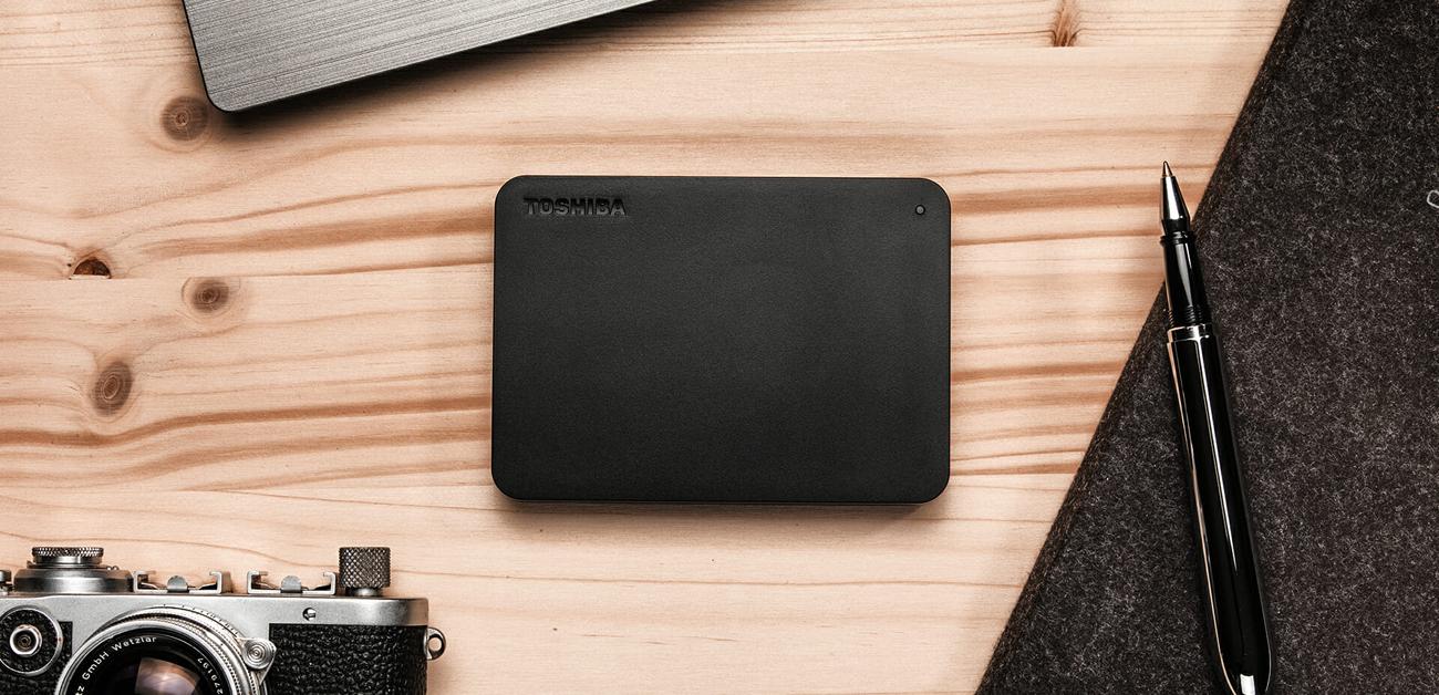 Przenośny dysk HDD 2,5'': Toshiba 1TB Canvio Basics USB 3.0