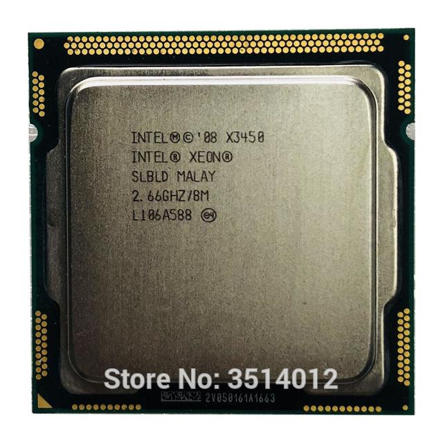 Intel Xeon X3450 2.6 GHz 4C/8T, 8mb cache,95W TDP