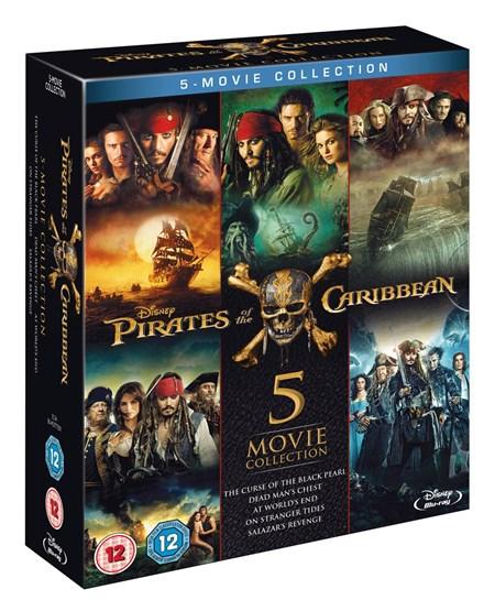 Piraci z Karaibów (5 x Blu-Ray) @ ZOOM