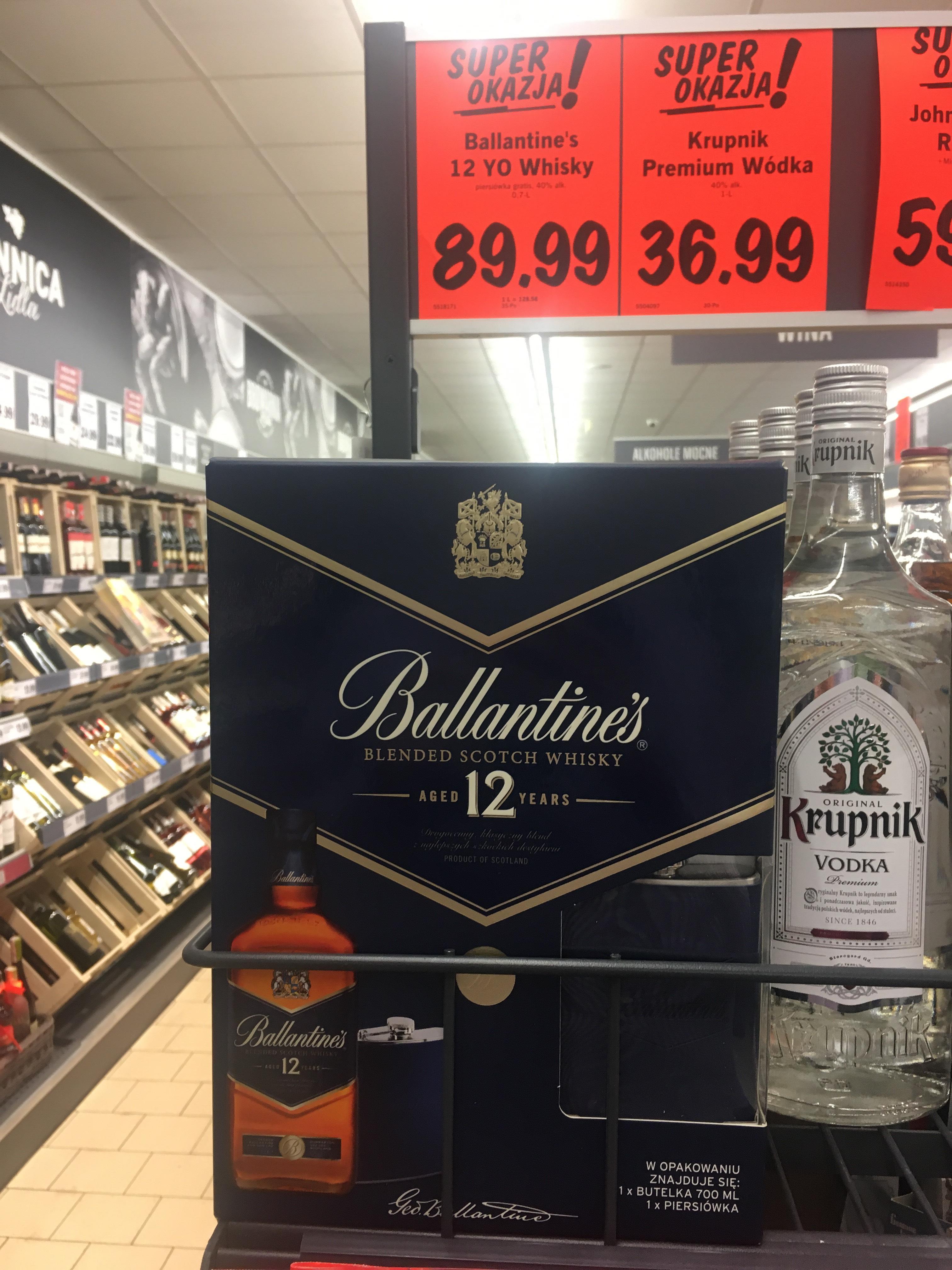 Ballentines Scotch Whisky