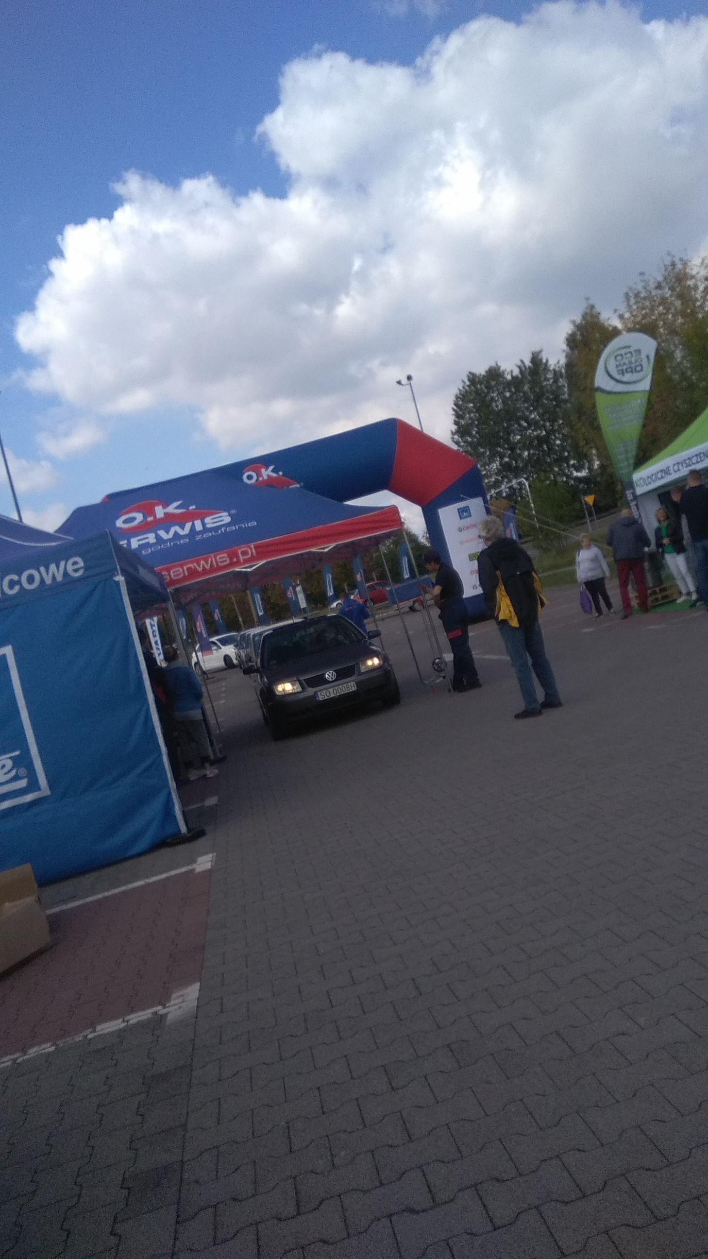 Sprawdzenie stanu technicznego auta za darmo parking E.leclerc Sosnowiec do 16:00