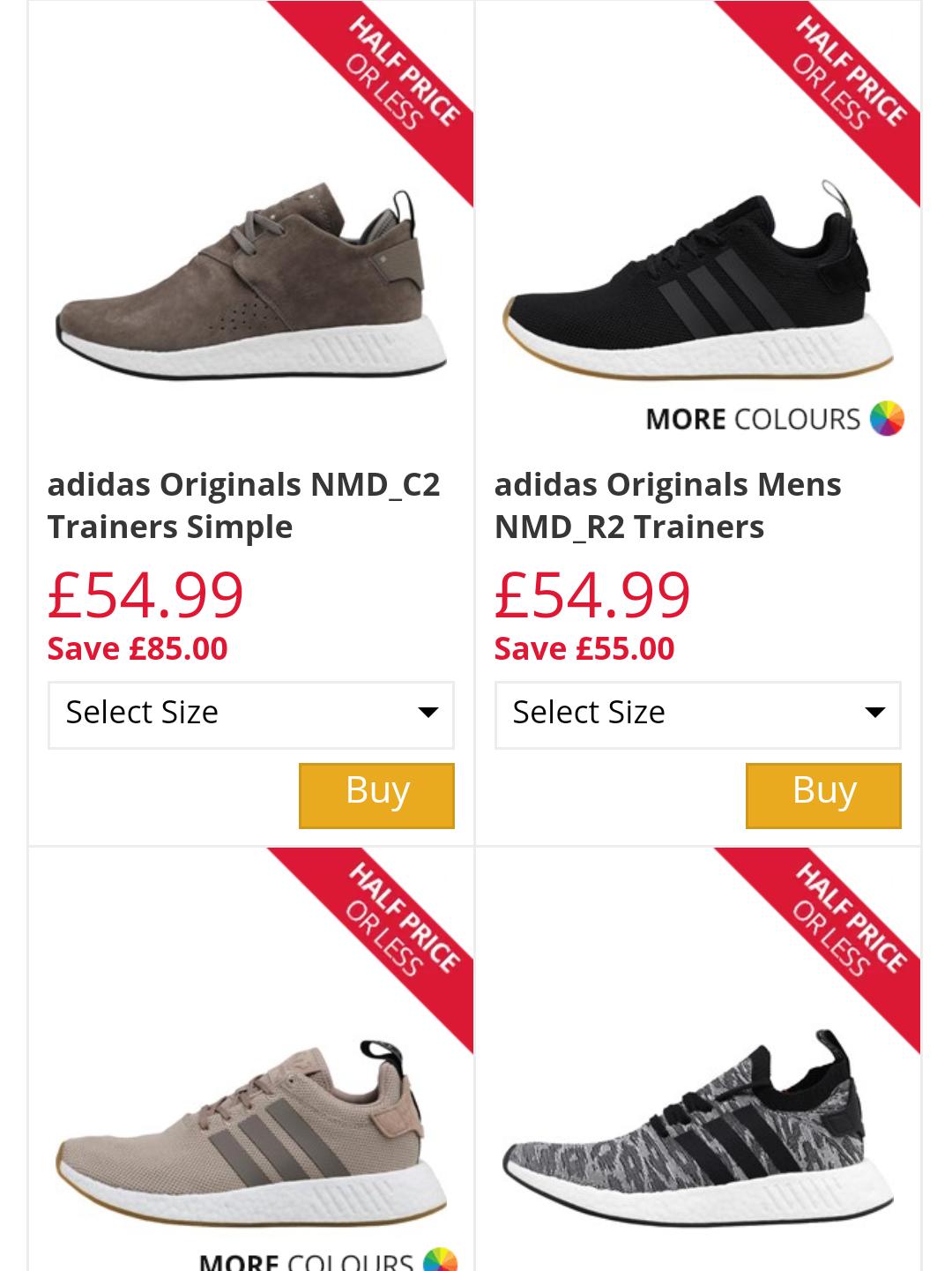 Adidas seria NMD, EQT i inne 30-70% taniej z Brytyjskiego outletu