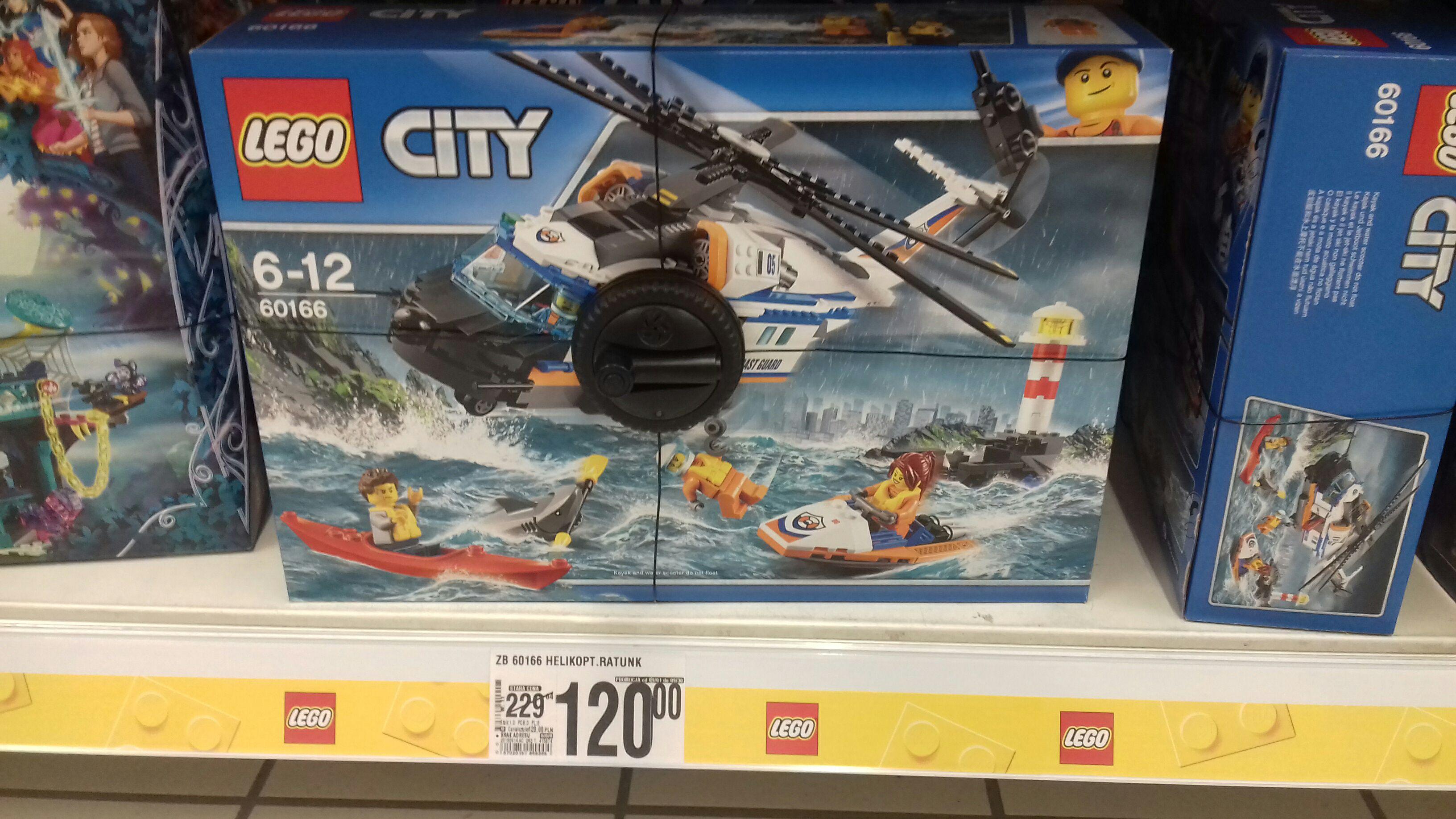 Lego City 60166 w Auchan Ursynów