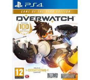 Gra na PS4 Overwatch: Game of the Year Edition 79 zł RTV Euro AGD