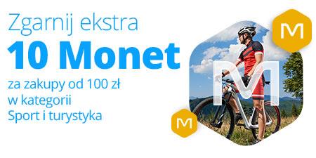"""10 monet Allegro za zakupy za 100 zł w kategorii """"Sport i turystyka"""""""