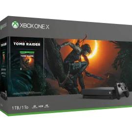 Xbox One X 1TB Shadow of The Tomb Raider + Fifa 19 1798zł Microsoft Swiss