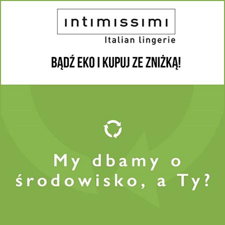 Bony na zakupy za przyniesienie używanych ubrań @ Intimissimi