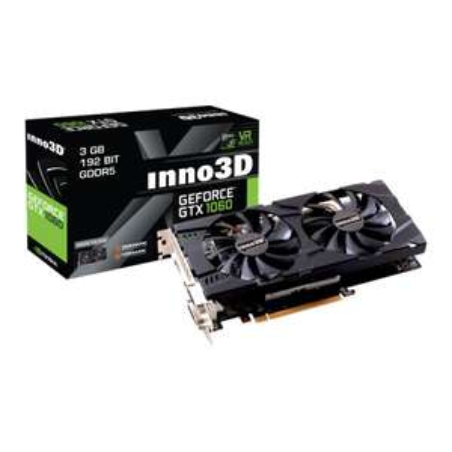 nVidia Inno3D GeForce GTX 1060 X2 6GB Emag.pl