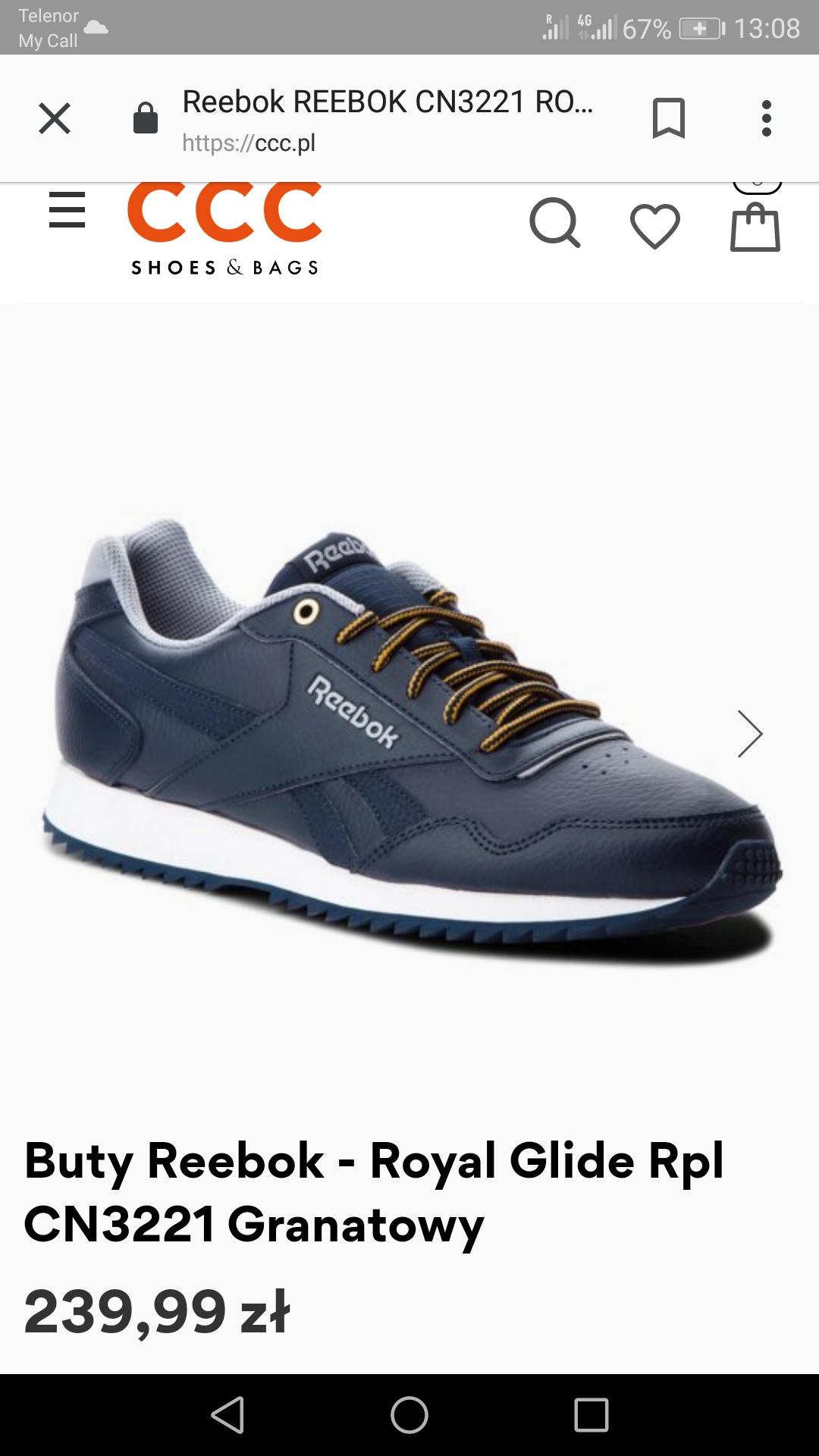 Minus 35% na buty sportowe w CCC