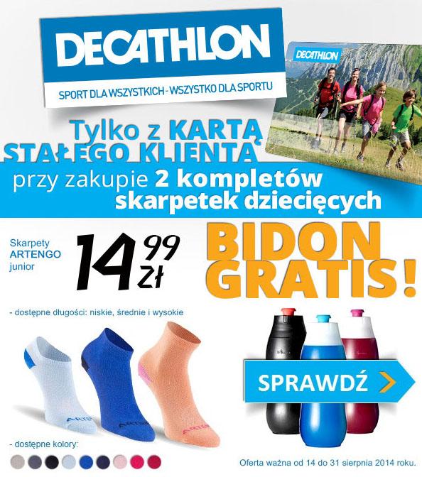 Bidon Bibida 600 GRATIS @ Decathlon