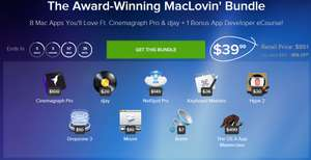 8 aplikacji na Maca + kurs dla programisty 95% TANIEJ @ STACKSOCIAL