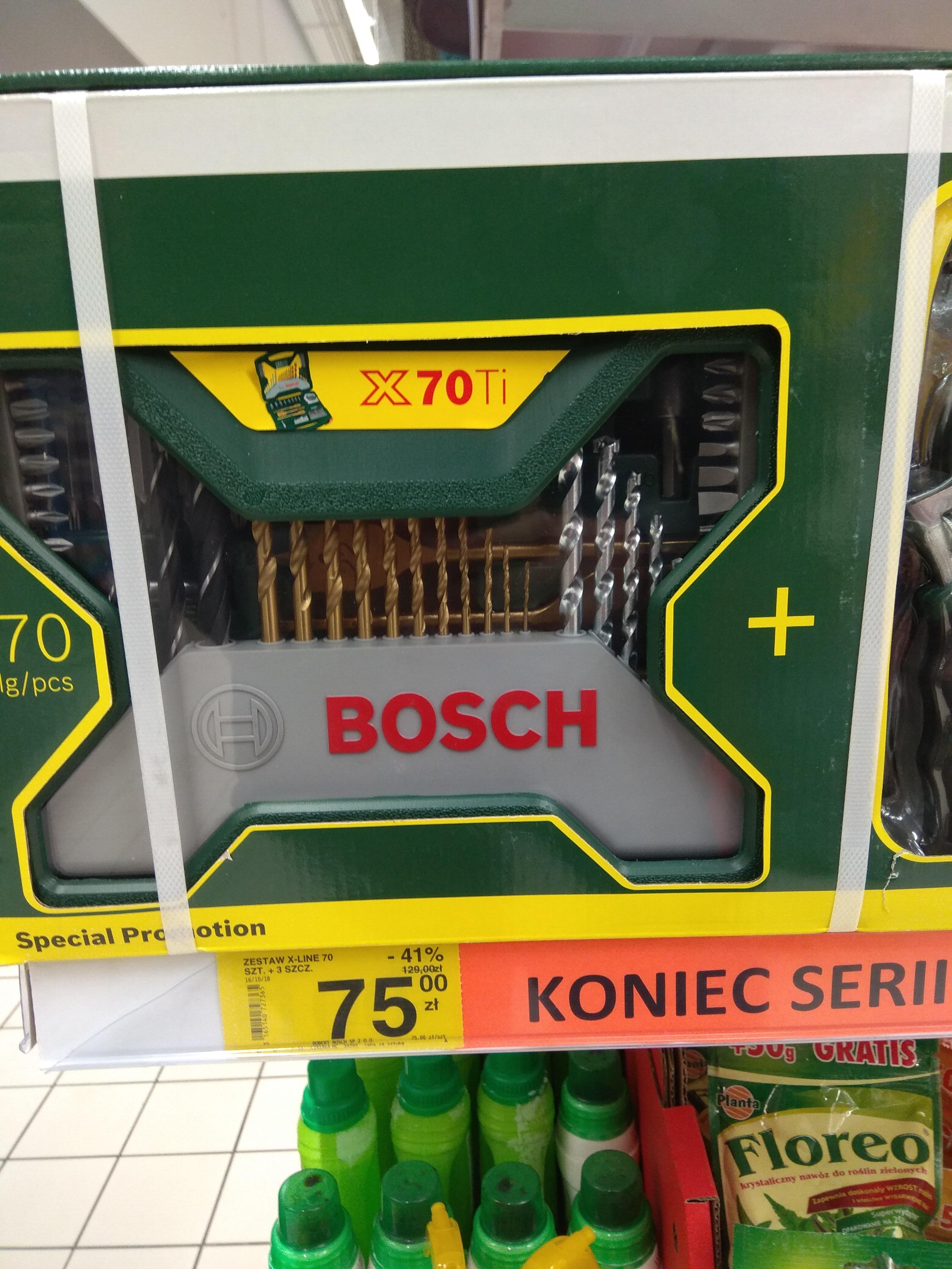 Zestaw Bosch X-Line 70 + 3 narzędzia