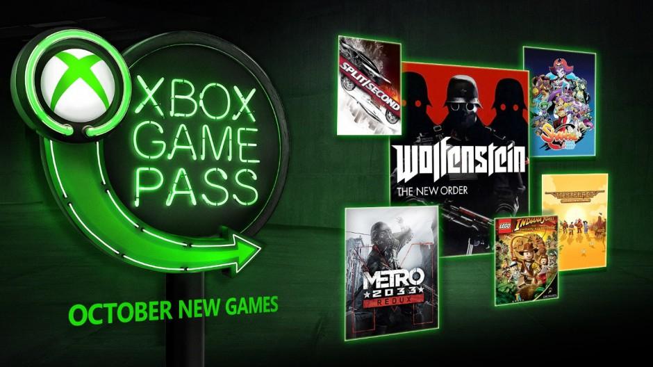 Nowości Xbox Game Pass Październik: Forza Horizon 4, Wolfenstein: The New Order, Metro 2033 Redux, LEGO Indiana Jones