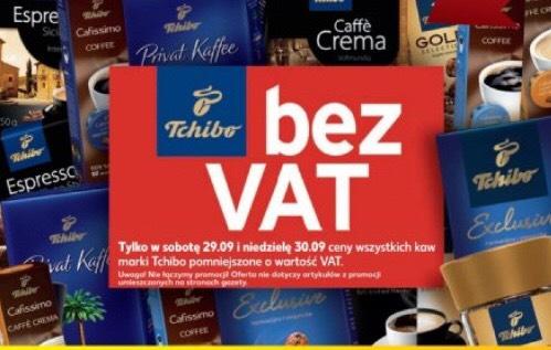 Kawy Tchibo bez VAT(Kaufland)