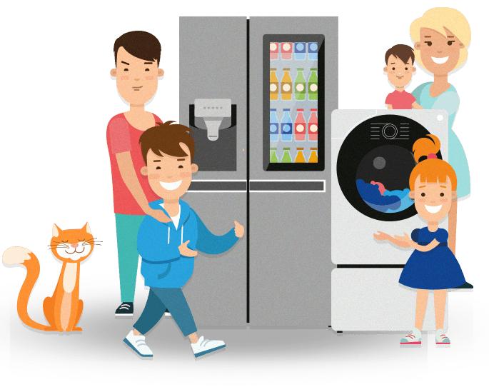 LG i karta duzej rodziny - do 15% zwrotu na konto