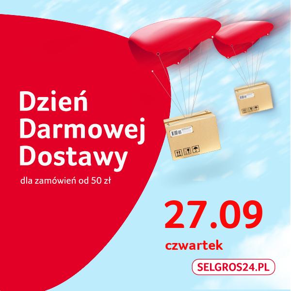 Darmowa dostawa w Selgros24.pl 27.09 MWZ 50zł