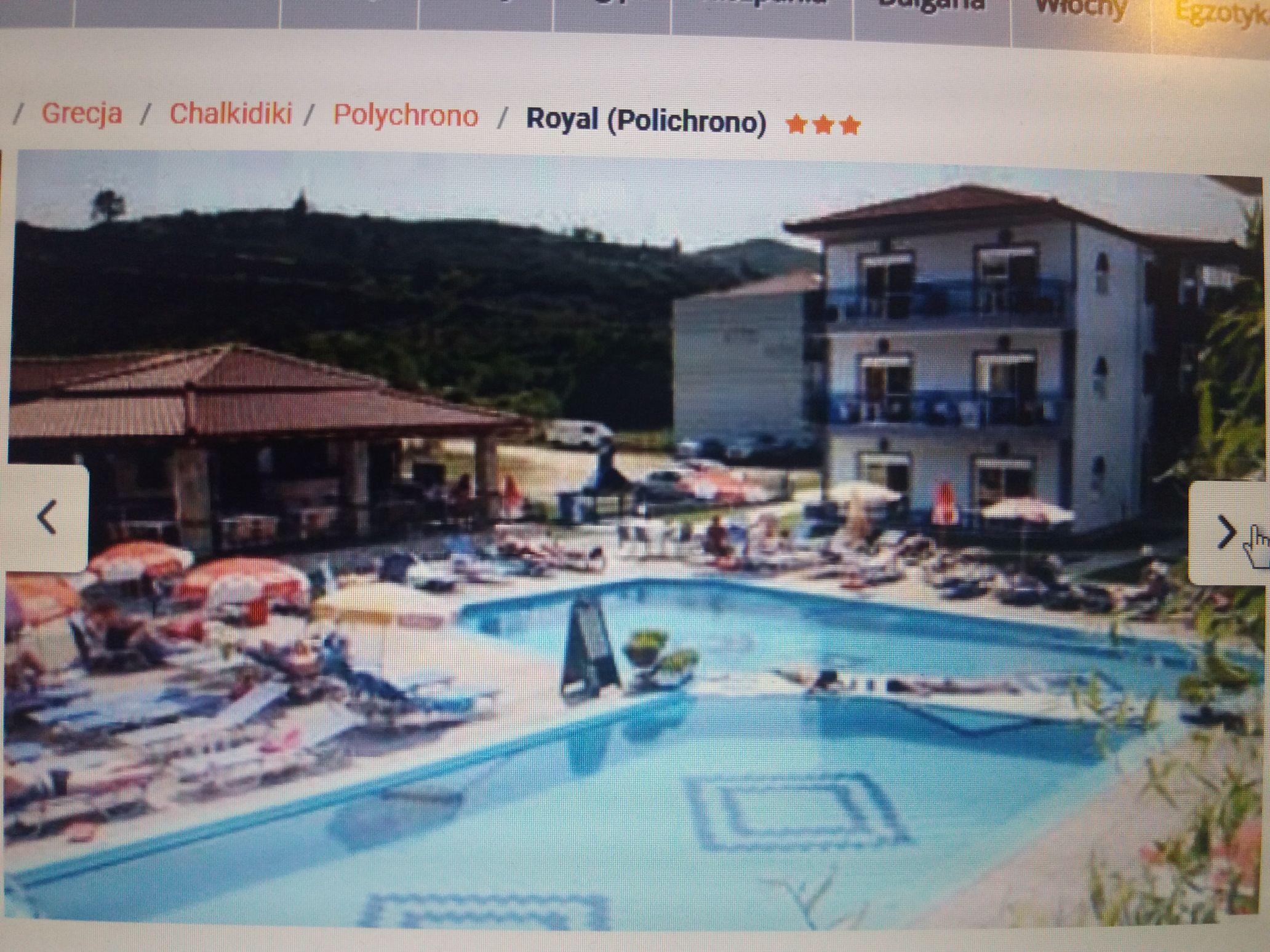 Grecja Chalkidiki 7 dni all incl. Hotel z b. dobrymi ocenami