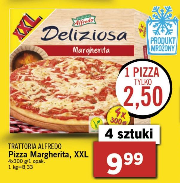 """Pizza"" Deliziosa Margherita za 2,50zł w Lidlu!"