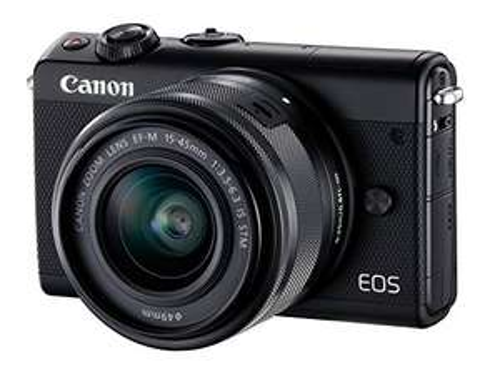 Aparat Canon M100 + obiektyw 15-45mm STM @ Amazon