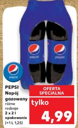 Pepsi | Pepsi Max | 2x2L (1,25 PLN / litr) @Kaufland