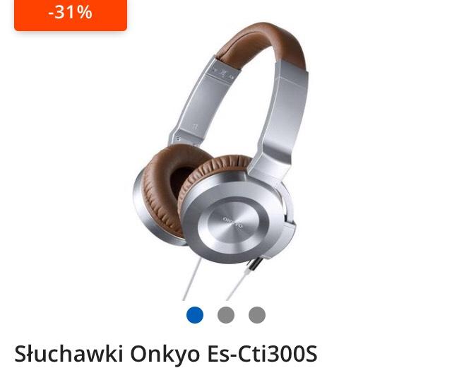 Słuchawki Onkyo es-Cti300s