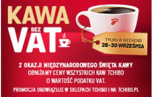 Kawa bez VAT TCHIBO
