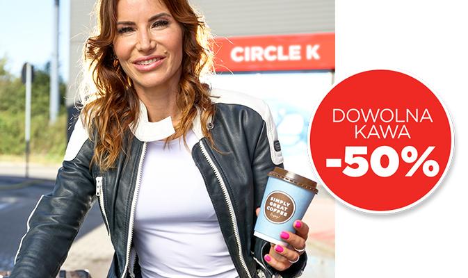 Kawa -50% Circle K (wszystkie stacje) Międzynarodowy Dzień Kawy