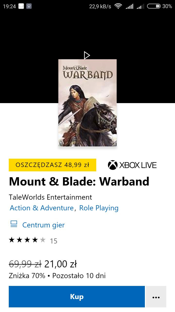 Mount & Blade: Warband Xbox One